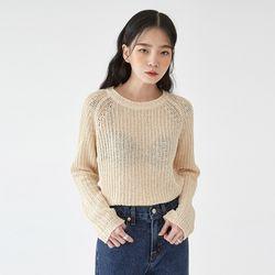 cube summer round knit