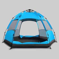 56인용 캠핑윈드 원터치 텐트(블루)