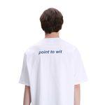 포윗 백 에로우 티셔츠(화이트)