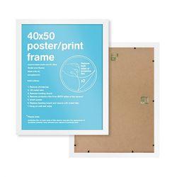 GBeye 정품 포스터프레임 40x50 액자 (화이트)
