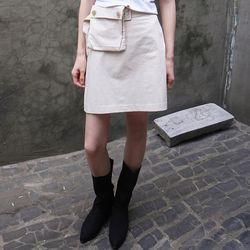 cargo mini skirts (2colors)