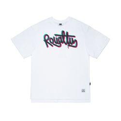 OVERLAP OVERSIZED T-SHIRTS WHITE