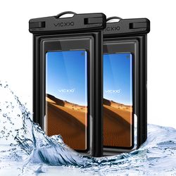 IPX-8등급 스마트폰 핸드폰 방수팩 P2 블랙+블랙