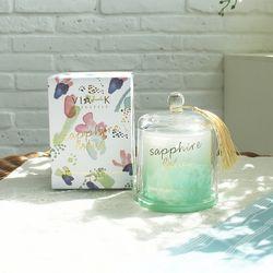 사파이어 연꽃 캔들