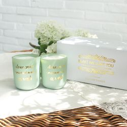 Make me love you candle set