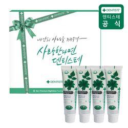 덴티스테치약 선물세트 4P(마일드100g 4개)