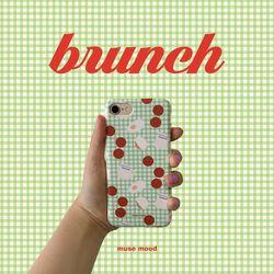 [뮤즈무드] brunch 아이폰케이스