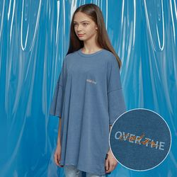 DAILY PIGMENT OVERSIZED TEE BLUE