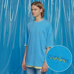 DAILY PIGMENT OVERSIZED TEE SKYBULE