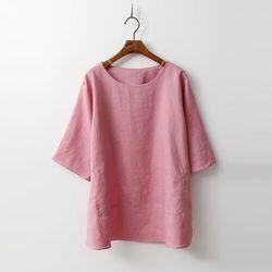 Linen Basic Blouse