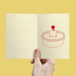 I Love Cake 카드