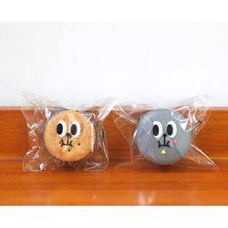 냠냠왕눈이 접착 봉투 (10x11+4)  20매 마카롱포장