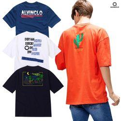 앨빈클로 남녀공용 여름 반팔티셔츠 40종 균일가