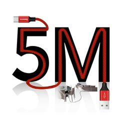 5M 롱 C타입 고속 충전 케이블