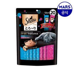 쉬바 멜티 가다랑어 2가지맛 240g(12gX20)