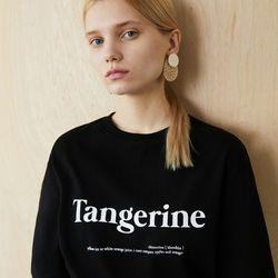 TANGERINE T (BLACK)
