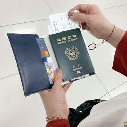 엑설런스 여행용 가죽 여권케이스