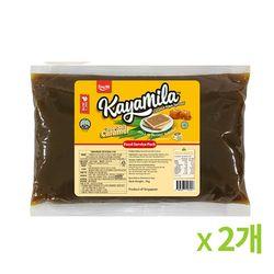 카야밀라 씨솔트카라멜 카야잼 1kg 2개묶음