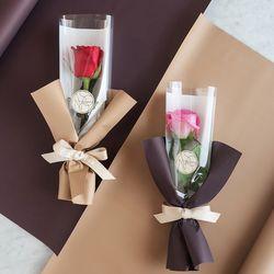 장미한송이에 담긴 사랑 로즈한송이꽃다발 [세트상품]