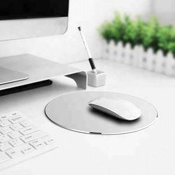 에르고디자인 알루미늄 마우스 패드 원형