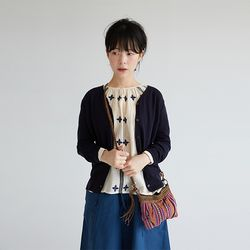 clean outfit midi cardigan (6colors))