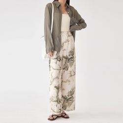 moving wide pants
