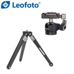 레오포토 MT-02 + LH-25 미니삼각대 볼헤드 세트