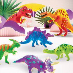 해피플레이 로버드 입체퍼즐 공룡 클레이 장난감 교구
