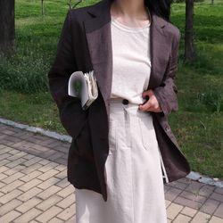 Classy linen jacket(린넨100)