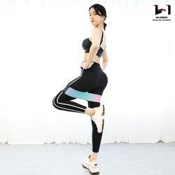 와일드브로스 애플 힙업 스쿼트 밴드 루프 엉덩이 허벅지 운동