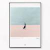 대형 메탈 풍경 인테리어 포스터 아트 액자 사막 no.2