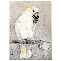중형 패브릭 포스터 일본 명화 새 그림 액자 요시다 히로시 2