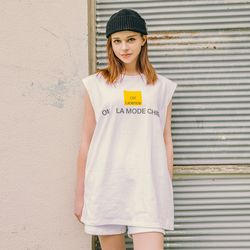 LAMC OFF LICENCE SLEEVELESS (WHITE)