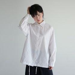 shirring detail blouse (2colors)