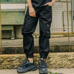LAMC CARGO JOGGER PANTS (BLACK)