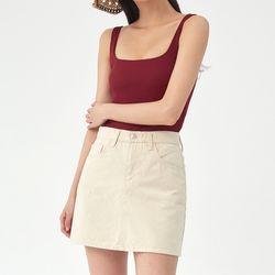 limited cotton basic skirt (s m l)