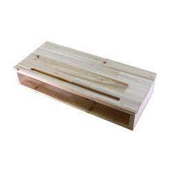 삼나무 원목 모니터받침대 BOX형 완성품발송