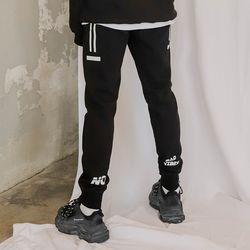 [유재석 착용] LAMC BACK LOGO TRAINING JOGGER PANTS (BLACK)