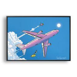 여자친구 방귀소리는 비행기