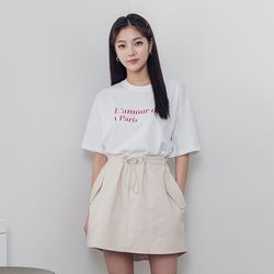 [로코식스] 라모트 베이직 티셔츠 레터링