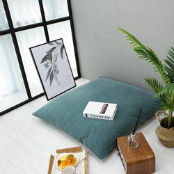 베이직대방석 민트(L 일반형 솜포함)