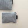 스카이 체크 파우치(Sky check pouch) - small