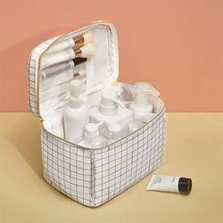 대용량 휴대용 여행용 화장품 가방