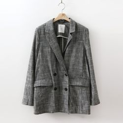 Linen Double Button Jacket