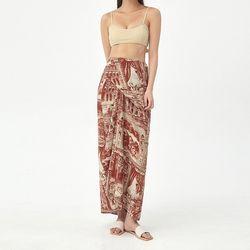 museum wrap skirt