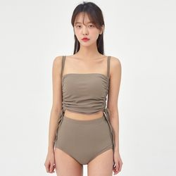 sure shirring string bikini