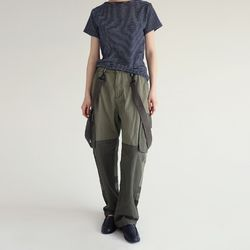 (unisex) coloration belt cargo pants (2colors)