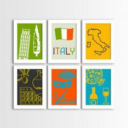 cv434-세계여행이탈리아액자세트