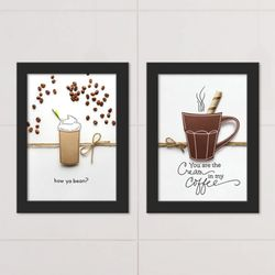 it162-커피에너지액자세트