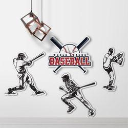 nb015-인테리어벽시계-야구